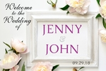 Wedding Banner 4 36 x 24 Horizontal