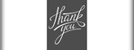 Thank You Banner 1 96 x 36 Horizontal