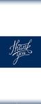 Thank You Banner 1 (24 x 60 Vertical)