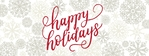 Holiday Banner 2 96 x 36 Horizontal