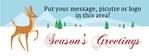 Holiday Banner 4 96 x 36 Horizontal