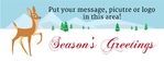 Holiday Banner 4 96 x 36 Horizontal