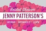 Bridal Shower Banner 2 36 x 24 Horizontal)