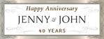 Anniversary Banner 2 96 x 36 Horizontal