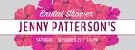 Bridal Shower Banner 2 96 x 36 Horizontal
