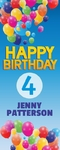 Happy Birthday Banner 2 24 x 60 Vertical