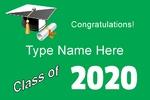 Graduation Class of 36 x 24 Horizontal