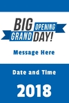Grand Opening Banner 1 24 x 36 Vertical