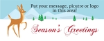 Holiday Banner 4 60 x 24 Horizontal