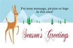 Holiday Banner 4 36 x 24 Horizontal