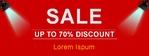 Sale Sale Sale 96 x 36 Horizontal
