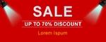 Sale Sale Sale 60 x 24 Horizontal