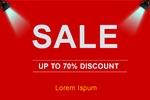 Sale Sale Sale 36 x 24 Horizontal