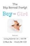 Gender Reveal Banner 24 x 36 Vertical