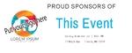 Sponsor Banner 60 x 24 Horizontal