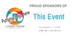 Sponsor Banner 48 x 24 Horizontal