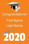 Graduation Class of 24 x 36 Vertical