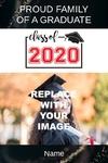 Graduation Banner 2 24 x 36 Vertical