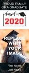 Graduation Banner 2 24 x 60 Vertical