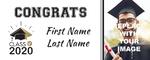 Graduation Banner 3 60 x 24 Horizontal