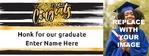 Graduation Banner 1 96 x 36 Horizontal