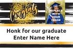 Graduation Banner 1 36 x 24 Horizontal