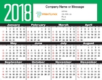 Year at a Glance Calendar - Landscape