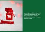 Joy with Santa