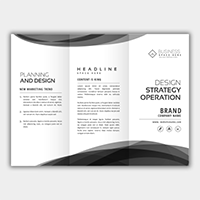 Brochures - Black & White